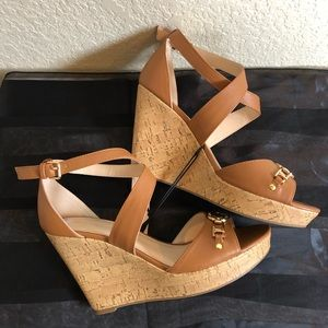 Marc Fisher Cork Wedges